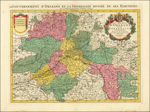 75-Centre et Pays de la Loire Map By Pierre Mortier