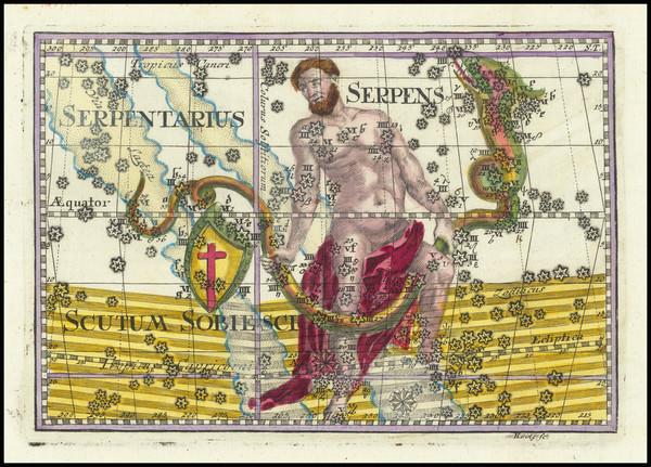 79-Celestial Maps Map By Corbinianus Thomas