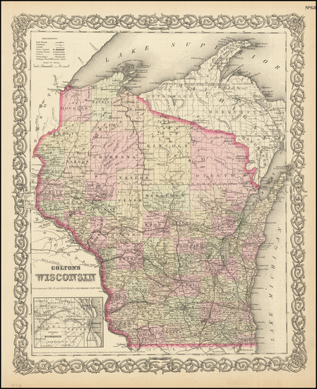 4-Wisconsin Map By Colton