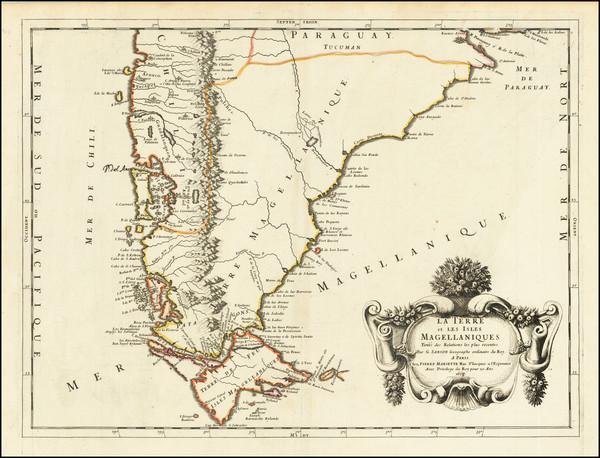 17-Argentina and Chile Map By Guillaume Sanson