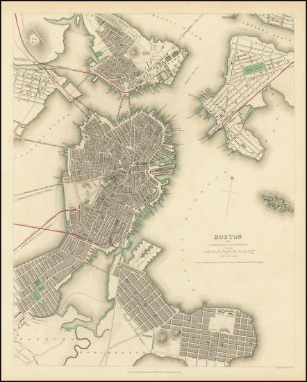 77-Boston Map By SDUK