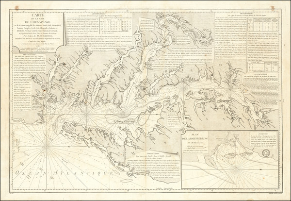 38-Mid-Atlantic and Southeast Map By Antoine Sartine