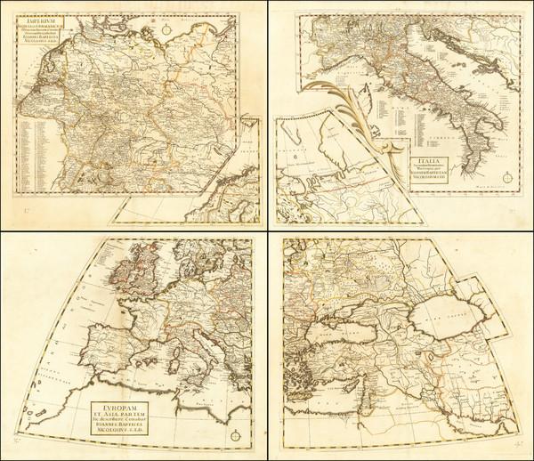 61-Europe Map By Giovanni Battista Nicolosi