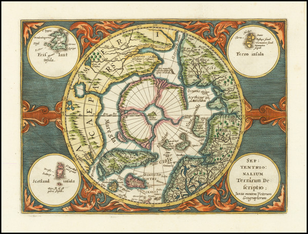 21-Polar Maps Map By Johannes Cloppenburg