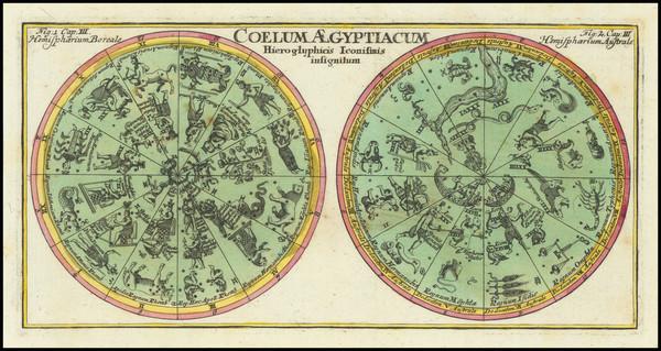 12-Celestial Maps Map By Corbinianus Thomas