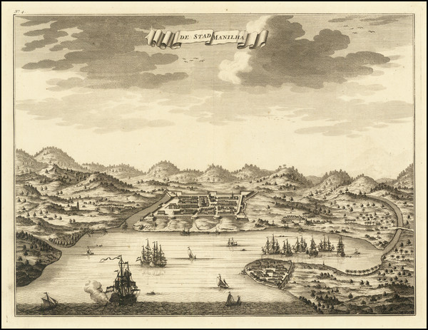 99-Philippines Map By Francois Valentijn