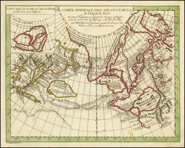 7-Polar Maps, Pacific Northwest, Alaska, Russia in Asia and British Columbia Map By Denis Diderot