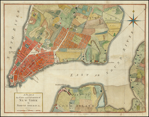 49-New York City Map By Universal Magazine
