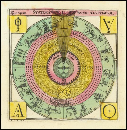 7-Celestial Maps Map By Corbinianus Thomas