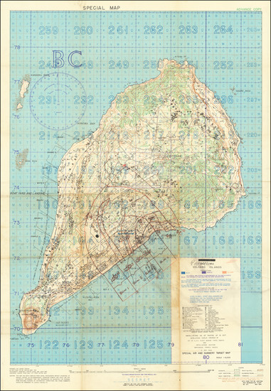 95-Japan, Other Pacific Islands, World War II and RBMS FAIR 2021 Map By Intelligence Section, Amph