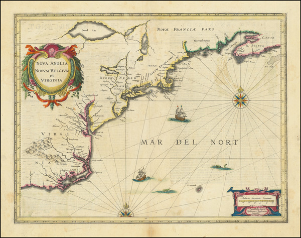 11-New England, New York State and Mid-Atlantic Map By Jan Jansson