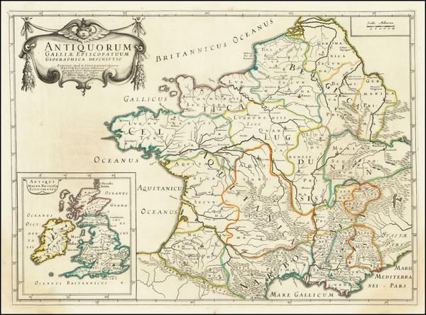 33-France Map By Melchior Tavernier