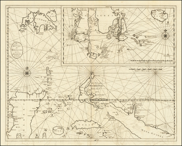 10-Philippines and Indonesia Map By Francois Valentijn
