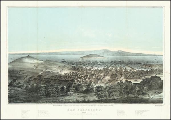 58-San Francisco & Bay Area Map By Henry Bill