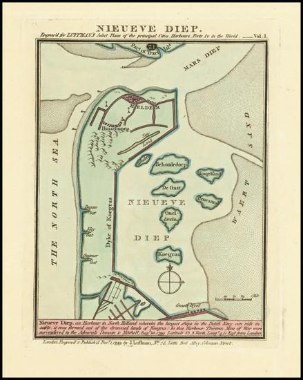10-Netherlands Map By John Luffman