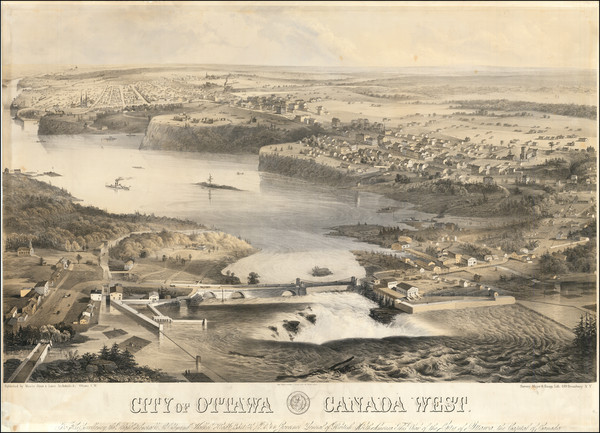26-Canada and Western Canada Map By Augustus Laver / Thomas Stent