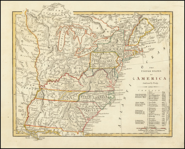 72-United States Map By Robert Wilkinson