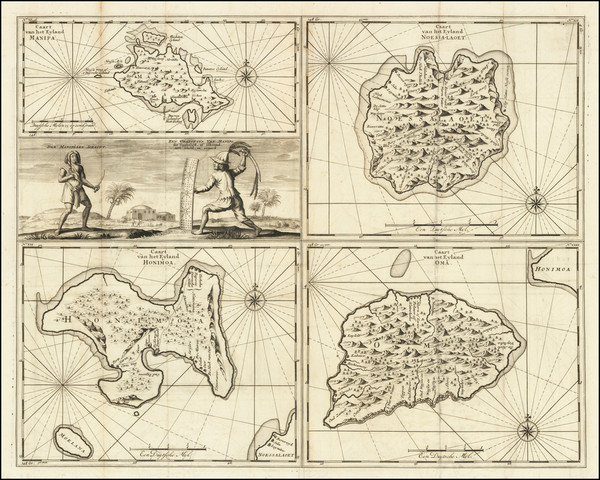 23-Indonesia and Other Islands Map By Francois Valentijn