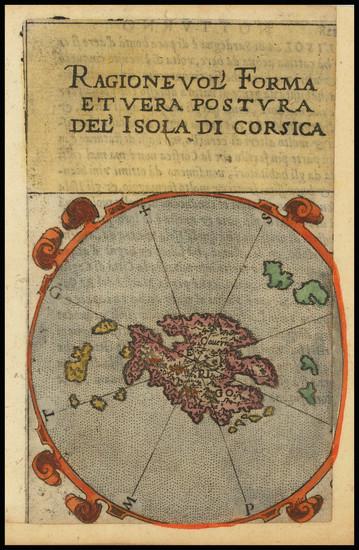 49-Corsica and Greece Map By Francesco Ferretti