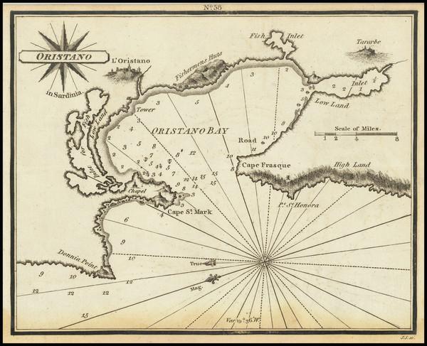 71-Sardinia Map By William Heather