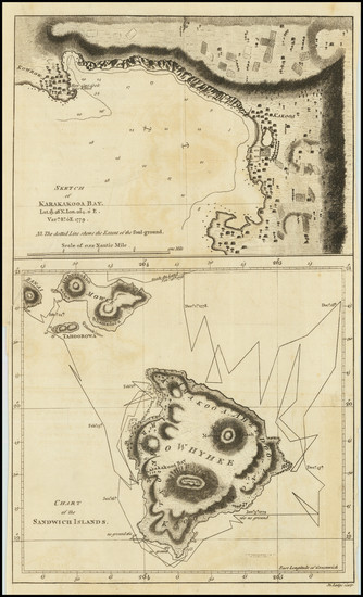 43-Hawaii and Hawaii Map By James Cook / John Lodge