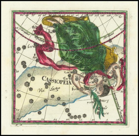 27-Celestial Maps Map By Corbinianus Thomas