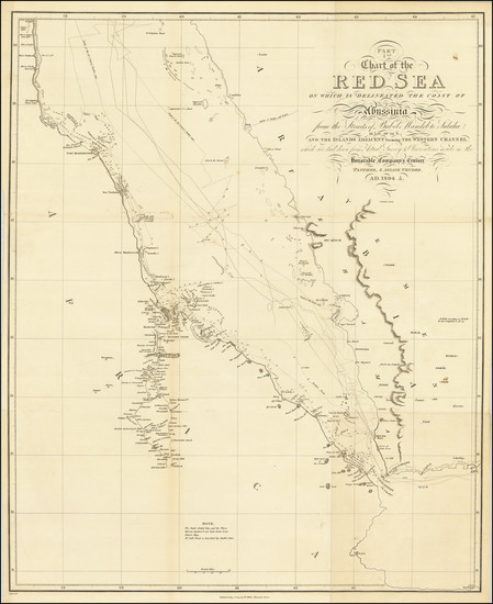 27-Arabian Peninsula, Egypt and North Africa Map By William Miller