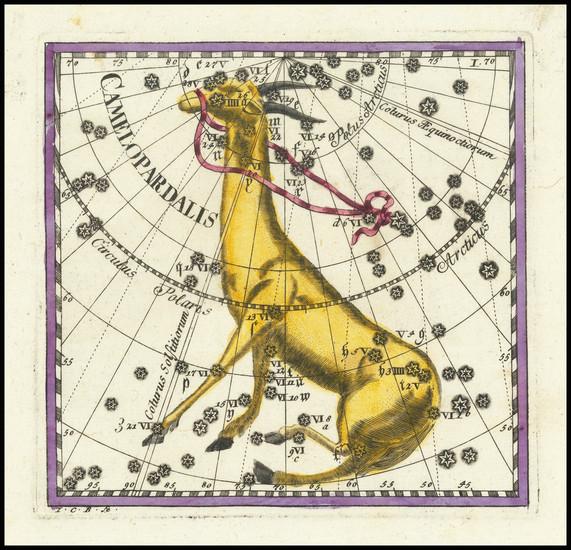 33-Celestial Maps Map By Corbinianus Thomas