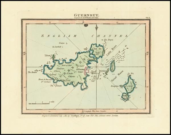 26-British Isles and England Map By John Luffman