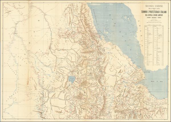 84-North Africa Map By Ministero Della Guerra