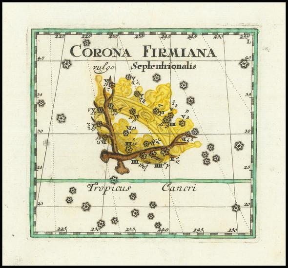 53-Celestial Maps Map By Corbinianus Thomas