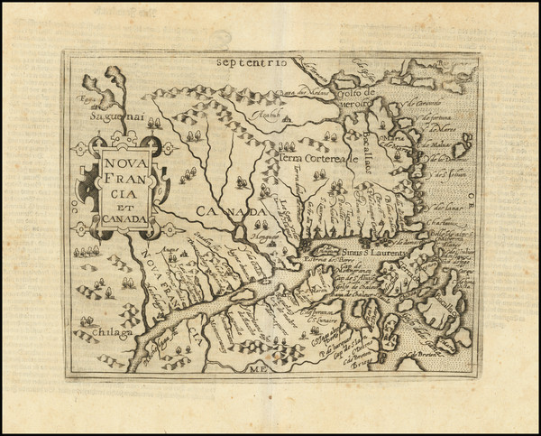 5-Canada and Eastern Canada Map By Johannes Matalius Metellus