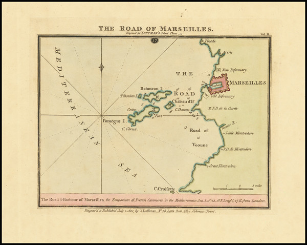 18-France Map By John Luffman