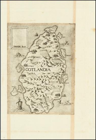 50-Scandinavia Map By Ferrando Bertelli