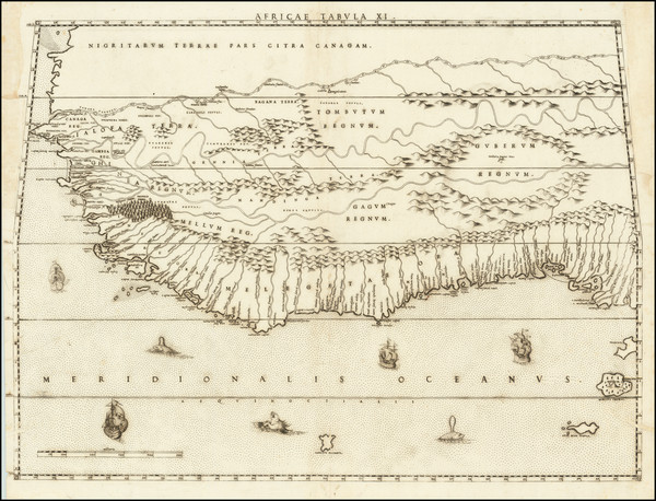 33-West Africa Map By Livio Sanuto