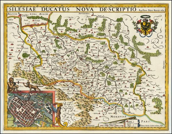 84-Poland Map By Pieter van den Keere