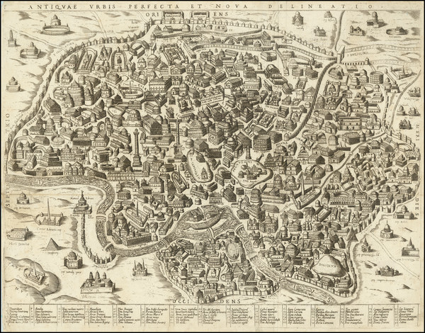 72-Rome Map By Anonymous