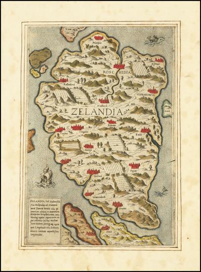 25-Netherlands Map By Anonymous / Antonio Lafreri