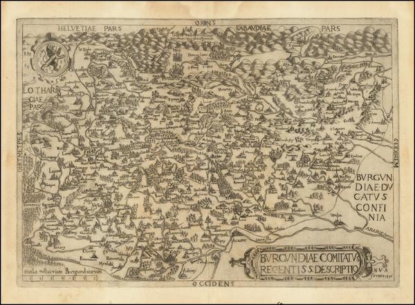 38-Nord et Nord-Est Map By Ferdinand De Lannoy / Nicolas Van Aelst