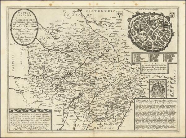 62-Grand Sud-Ouest Map By Maurice Bouguereau / Melchior Tavernier / Jean Fayen