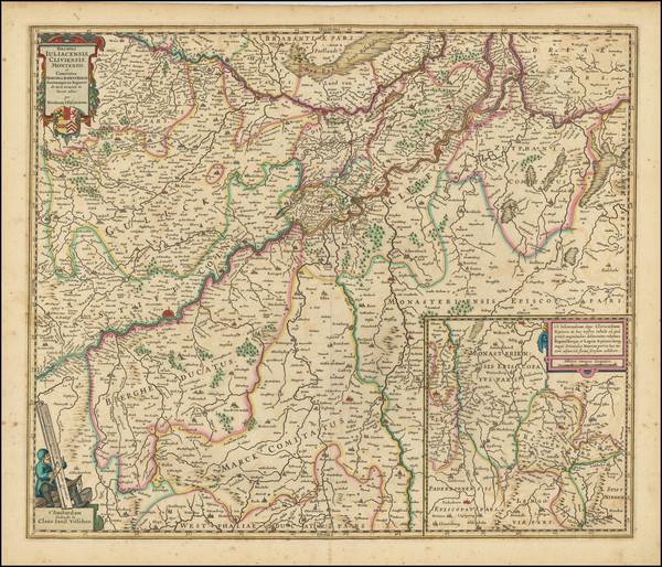 7-Netherlands and Mitteldeutschland Map By Claes Janszoon Visscher