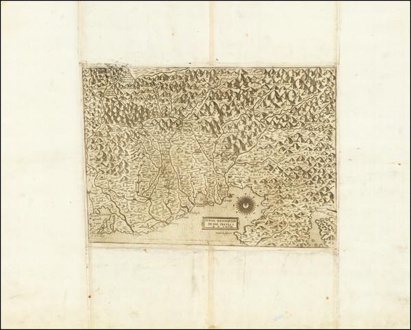 74-Croatia & Slovenia and Northern Italy Map By Giovanni Francesco Camocio