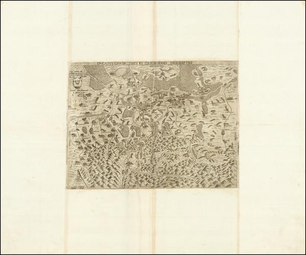 68-Poland Map By Stanislaw Porebski / Ferrando Bertelli