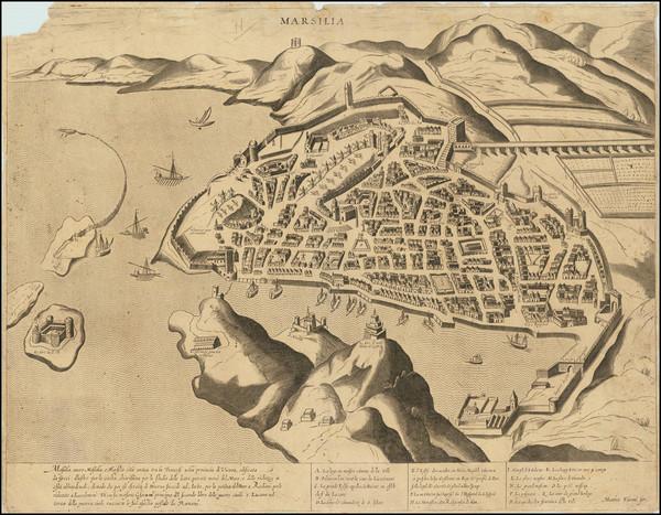 22-Sud et Alpes Française Map By Matteo Florimi / Pietro Petruccini