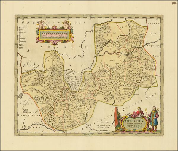 20-China Map By Johannes Blaeu