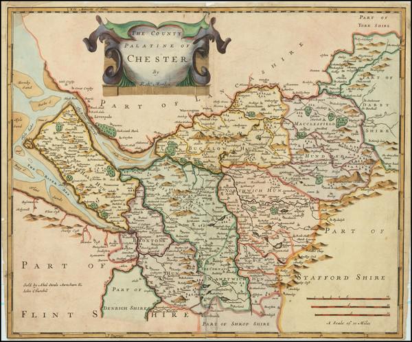 94-British Counties Map By Robert Morden