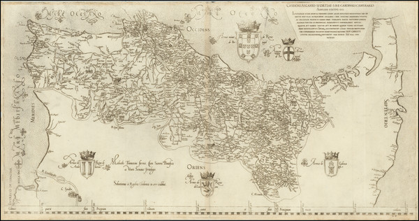 14-Portugal Map By Fernando Alvaro Seco / Michael Tramezini / Sebastian Di Regibus