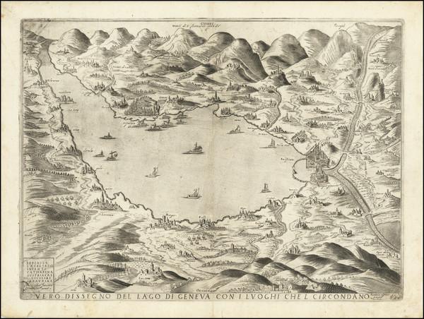 31-Switzerland Map By Giacomo Fornasieri