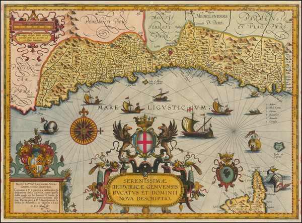 2-France and Northern Italy Map By