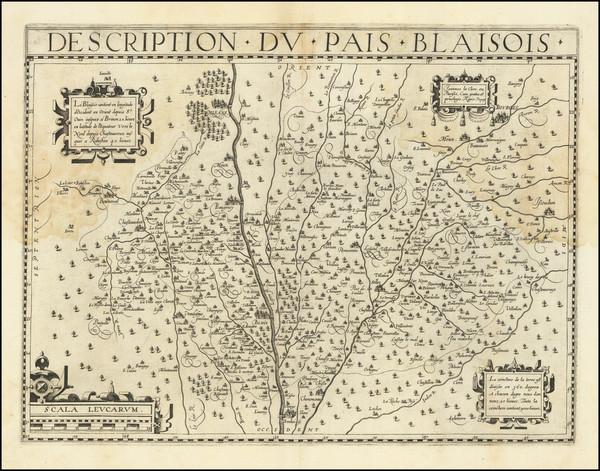 68-Centre et Pays de la Loire Map By Jean Le Clerc